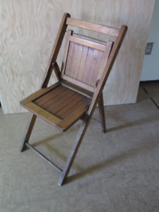 Old folding chair-antique