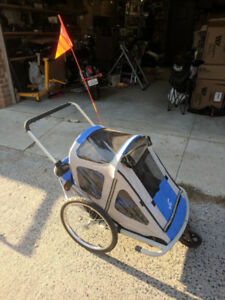 Bike stroller and trailer