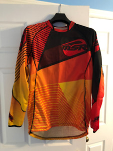 Mens motocross jersey and pants
