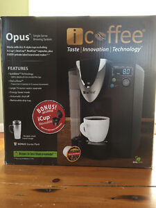 Almost new iCoffee machine