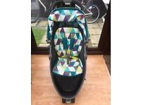 Graco Evo Mini Pushchair & Raincover Harlequin With Guarantee