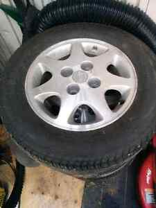 240sx Tires and Rims Strathcona County Edmonton Area image 1