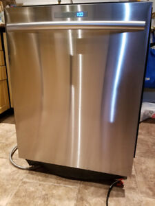 samsung lave vaisselle haut gamme stainless int ext, 3 tiroirs,