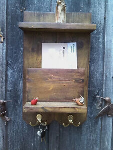 Rustic Mail Organizer/Key Holder