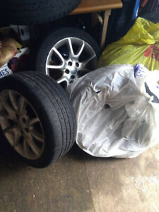 225/45R17 (Preowned for Dodge Dart) tires package.