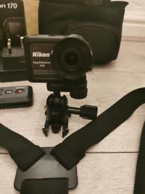 Nikon Keymission 170 action camera(no bank transfer or posting)