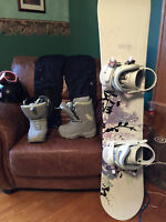 GIRL'S SNOWBOARD PACKAGE