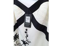 Designer Dress - BNWT - Size 16 - White