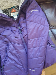 Purple Columbia Jacket