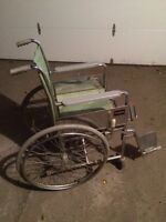 FOLDING WHEELCHAIR ONLY $50!!!!