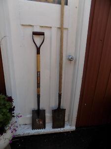 2 Roofing Shovels