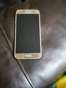 Samsung S6 gold used on telus  (3 phones available )