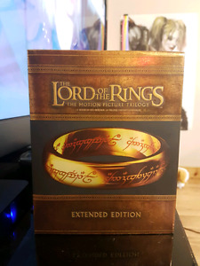 Lord of the Rings Trilogy Extended Edition on Blu-Ray