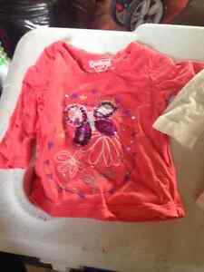 3-6 month girl shirts and sleeper London Ontario image 4