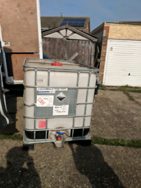IBC 1000 Litre Water Tank / Water Butt / Storage for sale  Canterbury, Kent