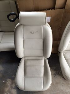 2002 Mustang Convertible leather seats white Cambridge Kitchener Area image 2