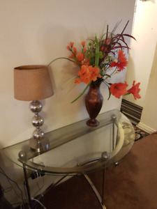 Glass tables for sale
