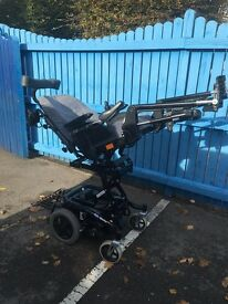Invacare spectrum XTR mobility powerchair with dual control