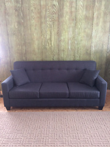New Blue Charcoal Couch
