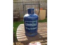 12 kg calor gas bottle Butane EMPTY