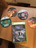 Star wars force unleashed/ gears of wars xbox 360