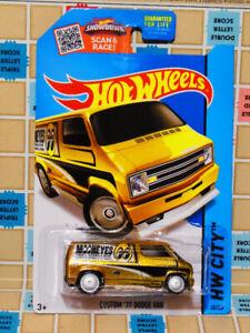 Hot Wheels '77 Dodge Van Super Treasure Hunt