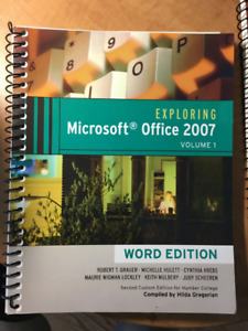 Exploring Microsoft Office & Powerpoint 2007 - Word Edition