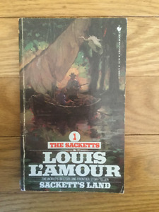 Lot of Louis L'Amour western books