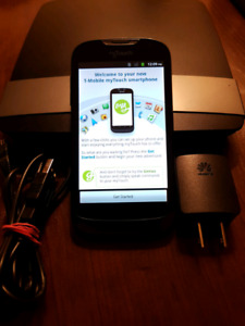 My Touch - Huawei mobile phone w/ factory charger