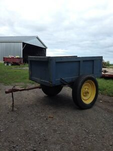 4 wheeler trailer.