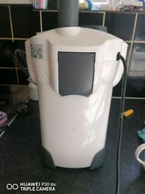 External filter for fish tank