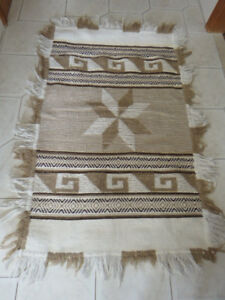 Rug with brown colours