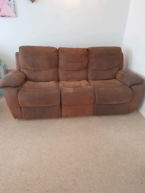 Recliner 3 seater & 2 seater sofa