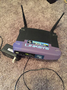 Linksys Wireless G Router $15