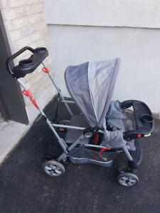 Poussette double Baby Trend Sit-N-Stand