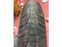 Michelin pilot road 4 motorcycle tyre 120/70-17