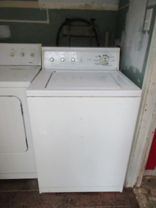 Functioning Washer and Dryer