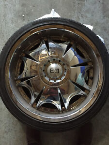 Low profile tires with Rims London Ontario image 1