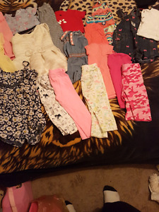 clothing lot 18-24 month