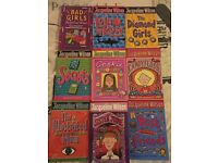 9 Assorted Jacqueline Wilson Books