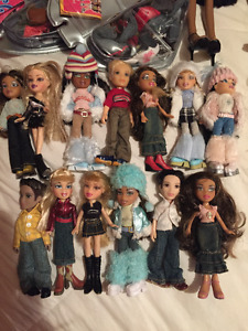 Ensemble (lot) de poupées Bratz