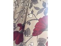 Poppy curtains fully lined ring top