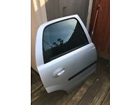 Corsa c rear drivers door