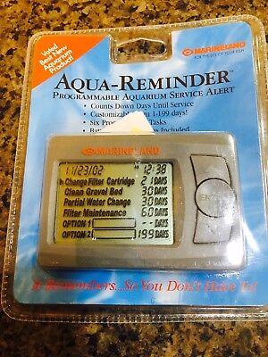 Aqua Reminder by Marineland Programmable Aquarium Service Alert Fish Tank (NIB)
