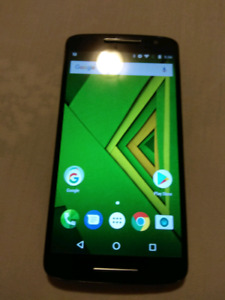 Moto x play unlocked mint condition