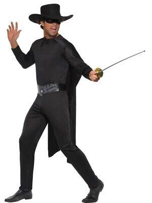 Maskierter Bandit Kostüm Herren Größe M Karneval Degen - Maskierte Kostüme