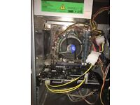 Gaming pc brand new gtx 750 graphic card card 8gb ram fast