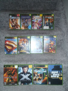 25 orginal xbox games ---------ALL IN CASES !!!
