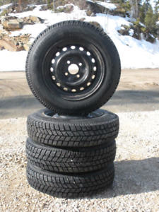 Like new Hancook winter tires and rims
