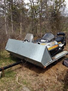 Skidoo skandic Yamaha bravo and trailer